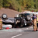 pickup truck rollover
