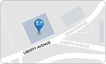 Map of ARCCA Location in Pittsburgh