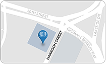 Map of ARCCA Location in Seattle