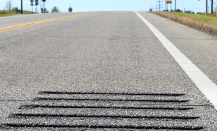 roadway rumble strips